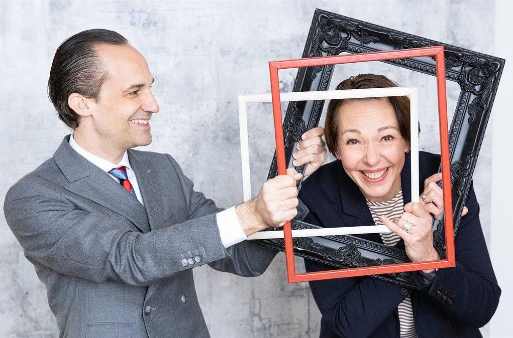 "Stefan A. Sengl and Christine Matzka with ""Frames"""