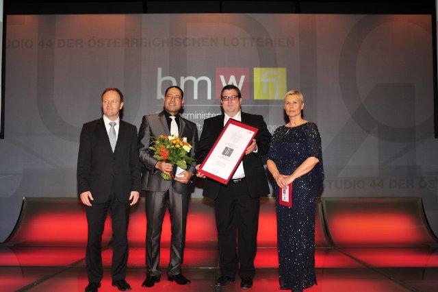 Preisverleihung Staatspreis Public Relations 2013