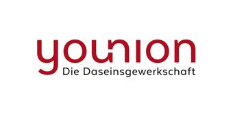 Logo Younion – Die Daseinsgewerkschaft